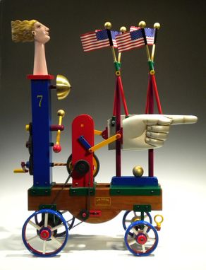Custom Made Miss Liberty- Automaton
