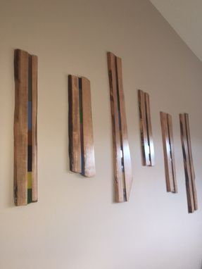 Custom Made Ambrosia Maple Live Edge Wall Art
