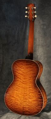 Custom Made Nick Lucas Style Quilted Maple Acoustic Guitar