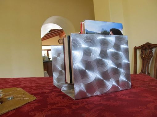 Custom Made Swirly Bookends