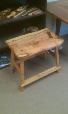 Custom Made Slab Guitar Stools