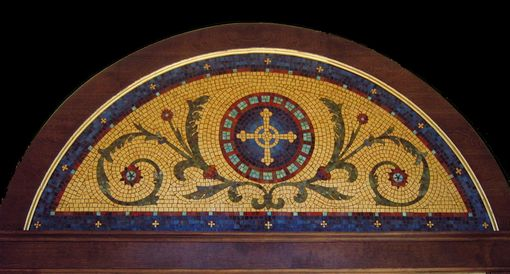 Custom Made Tympanum Mosaic
