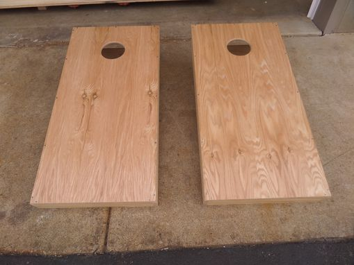 Custom Made Bag Toss Board Set (Corn Hole)