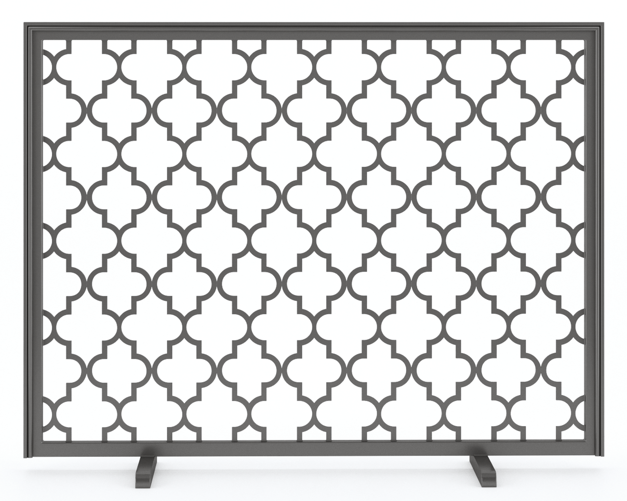 hand made metal fireplace screen brooklyn by urban ironcraft