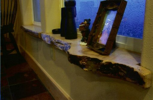 Custom Made Live Edge Window Sills And Trim