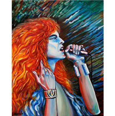 Custom Made Oil Painting Robert Plant