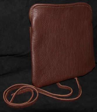 Custom Made Buffalo Leather Roll Pouch