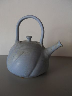 Custom Made Wheel Thrown Stoneware Teapot