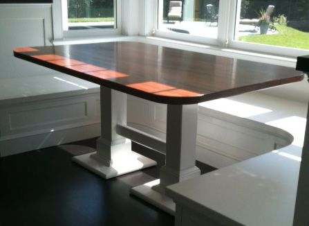 Custom Made Nook Dining Table