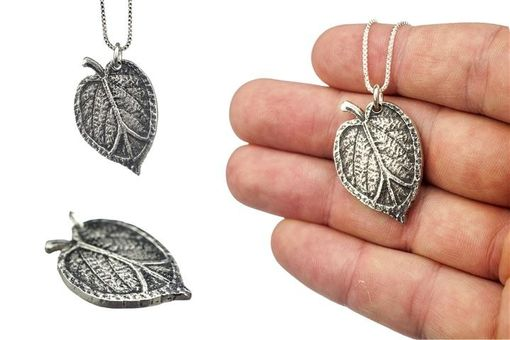 Custom Made Realistic Leaf Necklaces
