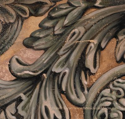 Custom Made Scrollwork - Original Acrylic Painting Or Print