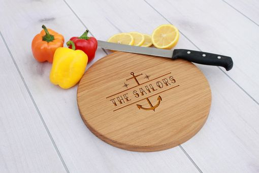 Custom Made Personalized Cutting Board, Engraved Cutting Board, Custom Wedding Gift – Cbr-Wo-Sailors
