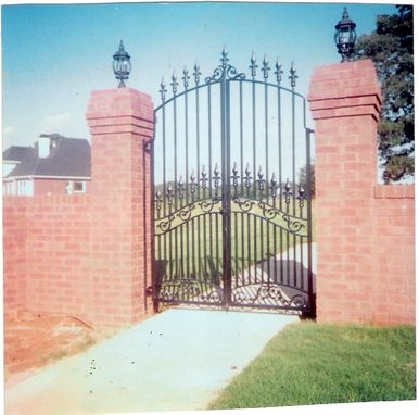 Custom Made Courtyard Gates