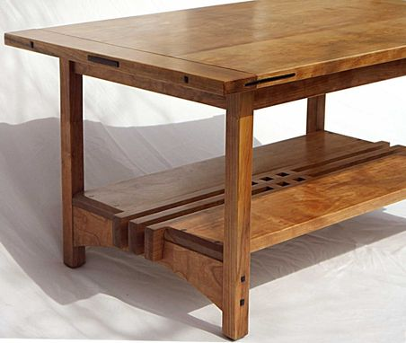 Custom Made Greene & Greene Style Coffee Table