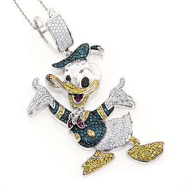 Custom Made Donald Duck Pendant
