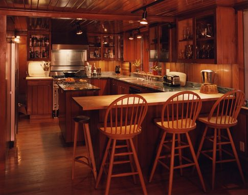 Custom Made Cedar Kitchen
