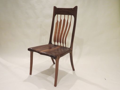 Custom Made High Back Dining Chair