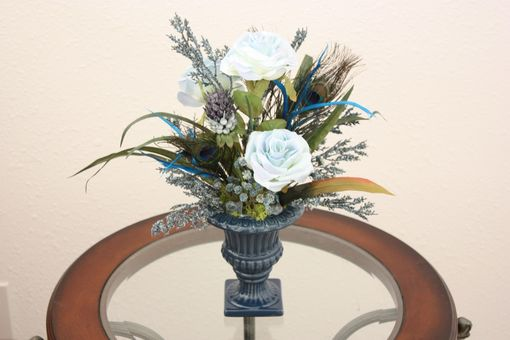 Handmade silk flower arrangement home office decor dining room silk flower arrangement home office decor dining room decor table centerpiece mightylinksfo