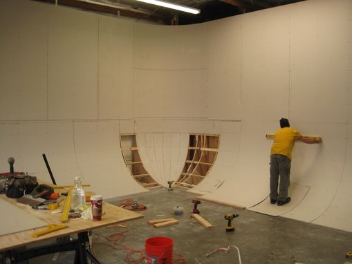 Custom Made Cyclorama Wall (Cyc Or Infinity Cyc)