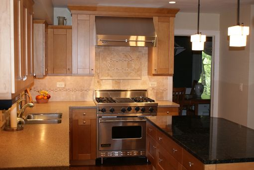 Custom Made Maple Mission Kitchen