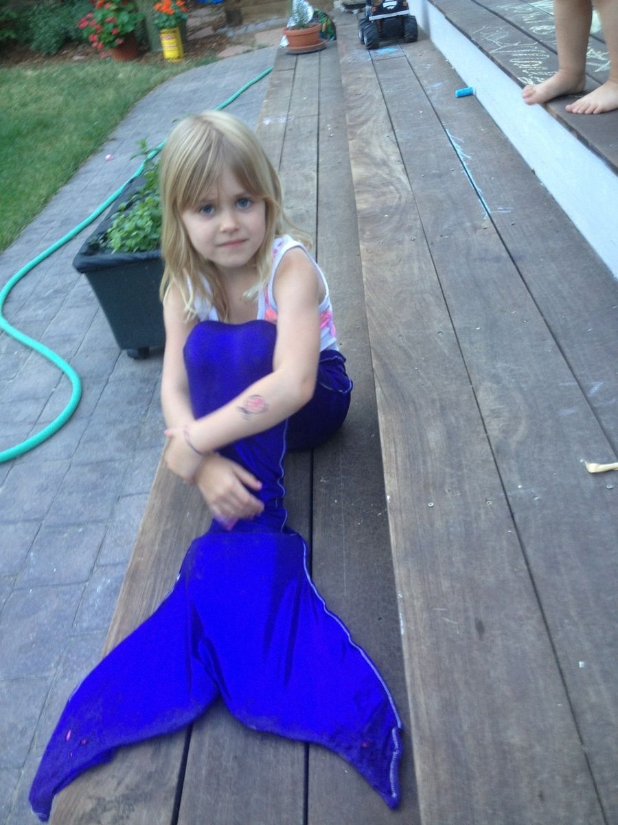Hand Made Mermaid Tails For Swimming By Sml Stitch Shoppe