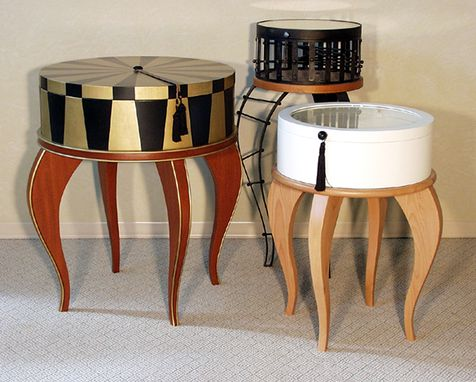 Custom Made Hat Box Tables