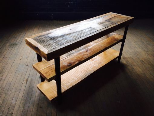 Custom Made Reclaimed Oak Bookshelf/Tv Stand