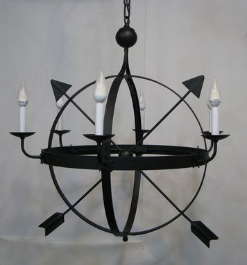 Custom Made Armillary Chandelier