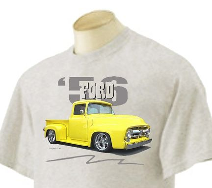 Custom Made 1956 Ford F-100 T-Shirt Artist Made