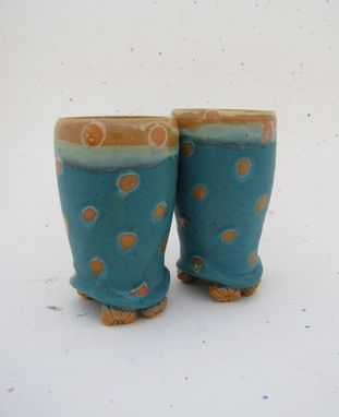 Custom Made Footed Funky Tumbler Sets 2-8