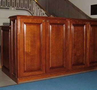 Custom Made Chapel Cabinets