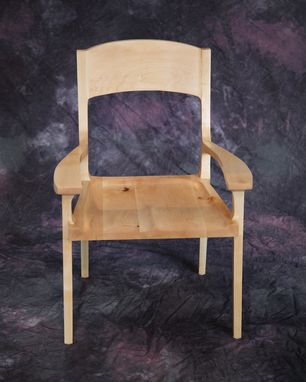 Custom Made Low Back Mid Century Dining Chair