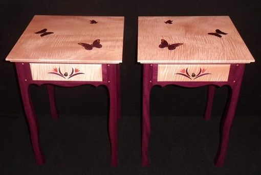 Custom Made Set Of Matching End Tables