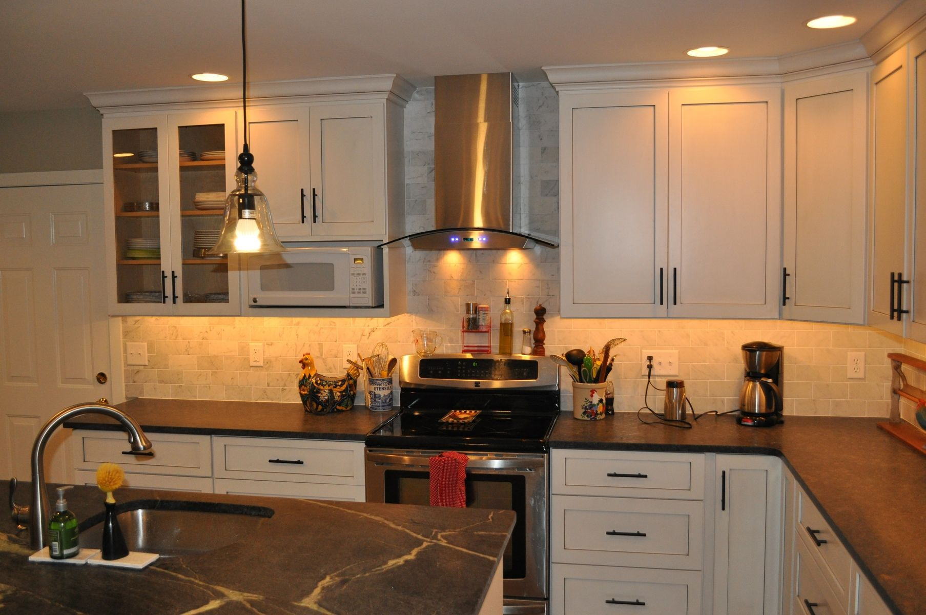 Hand Made Modern Shaker Style Kitchen By London Grove Cabinetmakers