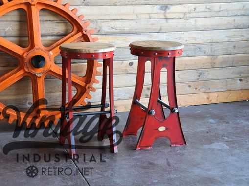 Astonishing Hand Made Vintage Industrial A Frame Bar Stool Drafting Alphanode Cool Chair Designs And Ideas Alphanodeonline