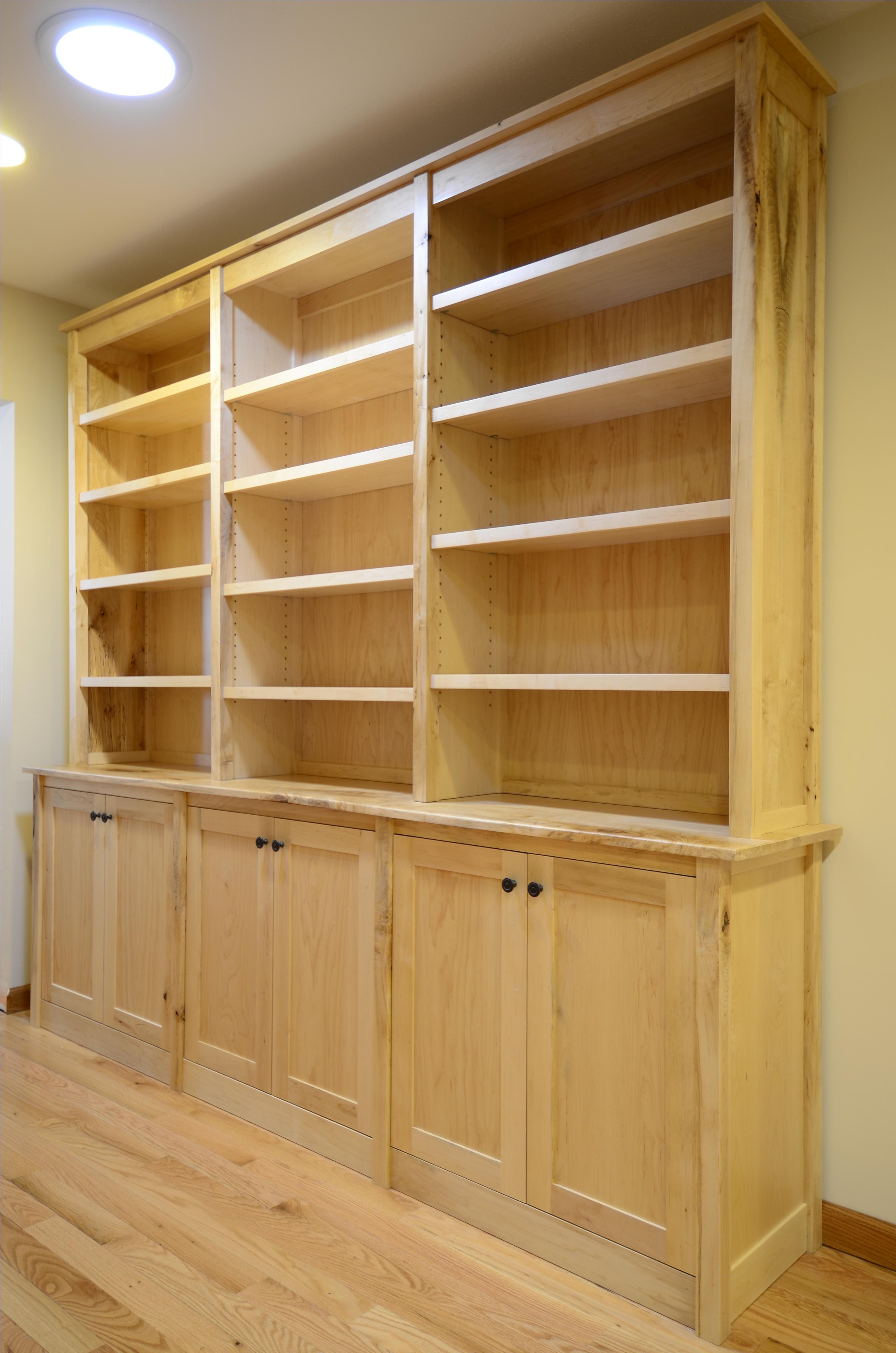 Hand Made Maple Bookcases By Joshua White Fine Furniture And