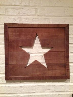 Custom Made Country Star Wall Hanging