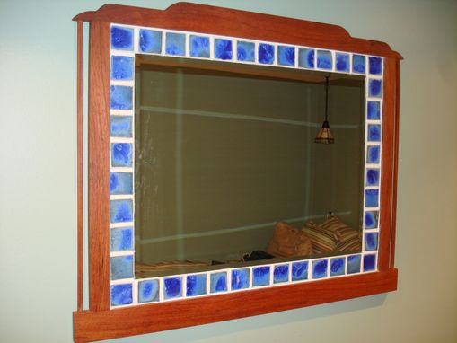 Custom Made Arts & Crafts Mirror
