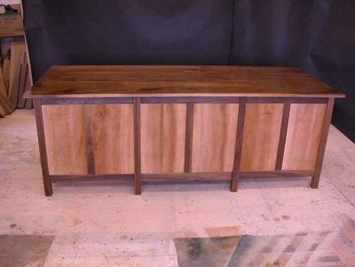 Custom Made The Boetcher Walnut And Sycamore Credenza-Sold Could Make Another