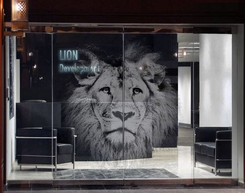 Custom Made Etched Architectural Glass: High Impact Glass Doors By Glassarium