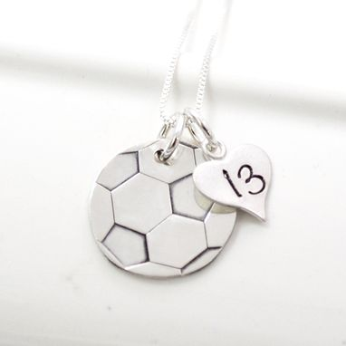 Custom Made Soccer Mom Sterling Silver Necklace