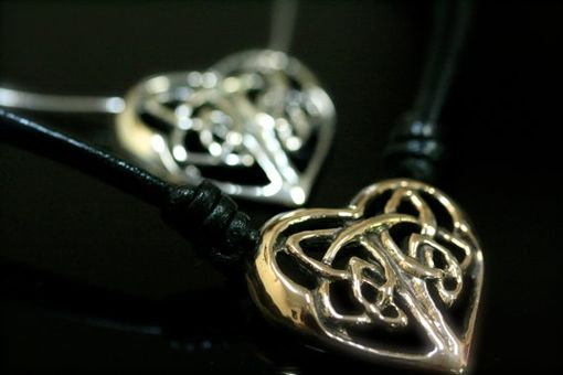 Custom Made Celtic Heart Pendant
