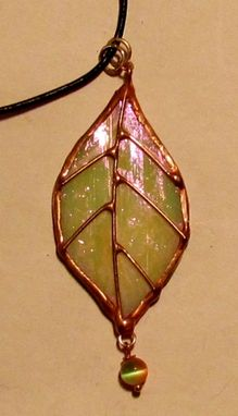Custom Made Stained Glass Pendants
