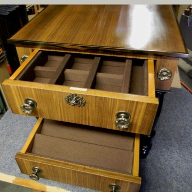 Custom Made Collector Cabinets With Specialized Drawers