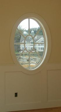 Custom Round And Oval Window Trim By B H Davis Company