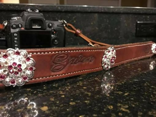 Custom Made Leather Camera Strap