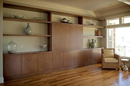 Custom Made Living Room Wall Unit