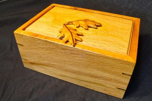 Custom Made Black Oak Box