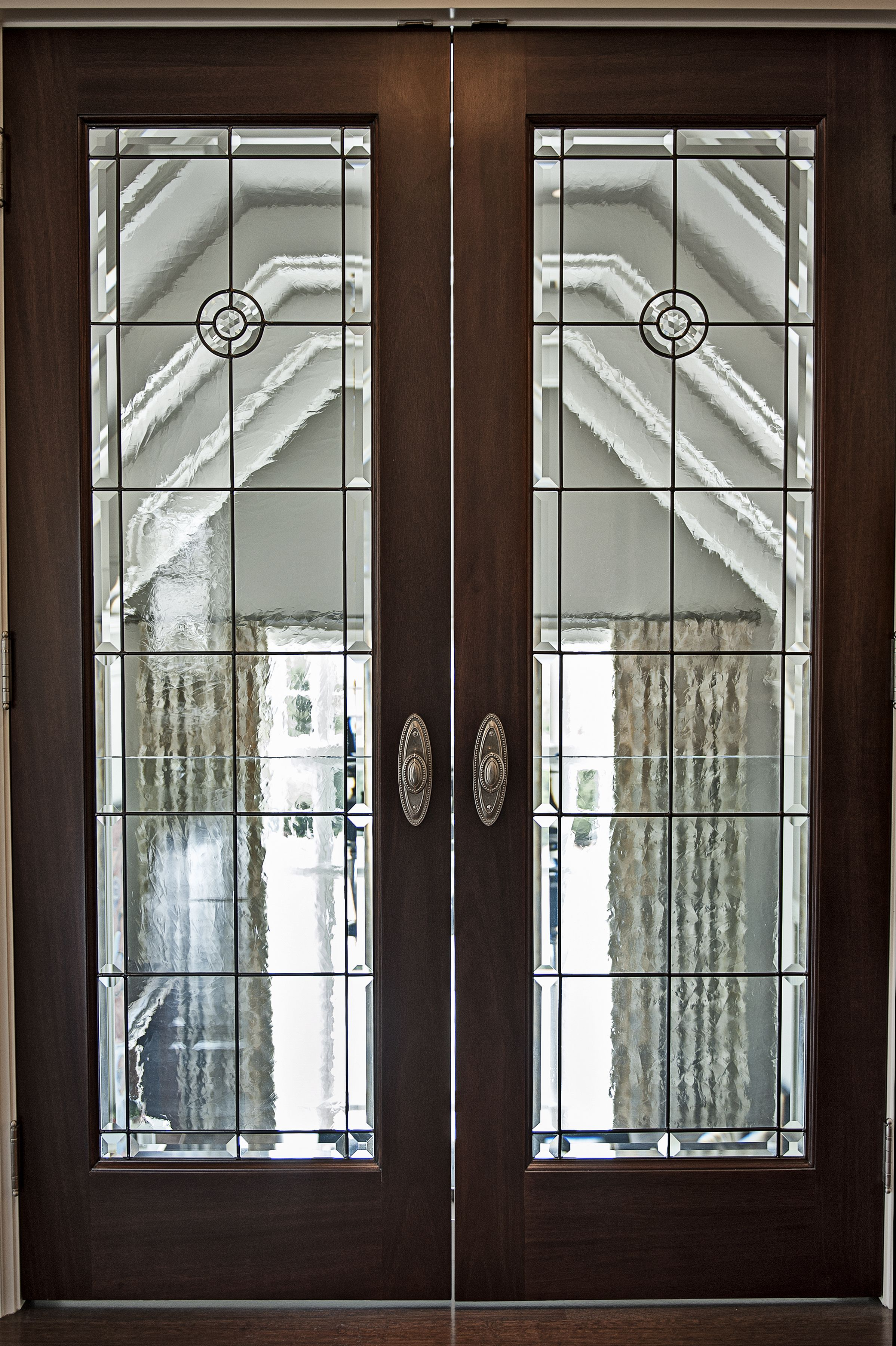 Hand Made Leaded And Stained Glass Interior Door Projects By