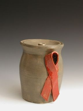 Custom Made Symbolic Remembrance Ribbon Urn